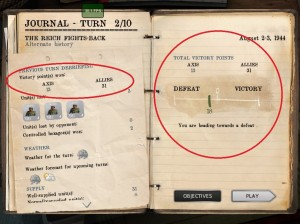 Normandy 44 - screen journal victory