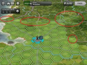Normandy 44 - screen strat move